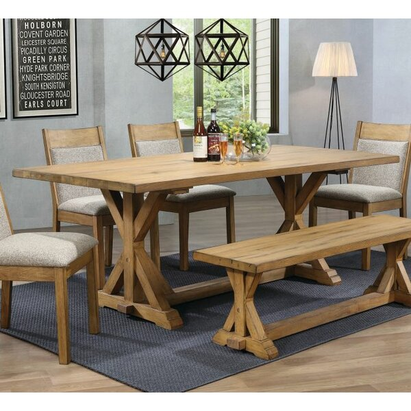 Wissner Dining Table by Gracie Oaks