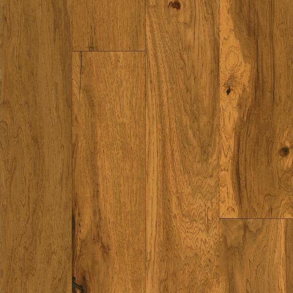 American Scrape 5 Engineered Hickory Hardwood Flooring in Amber Grain by Armstrong Flooring