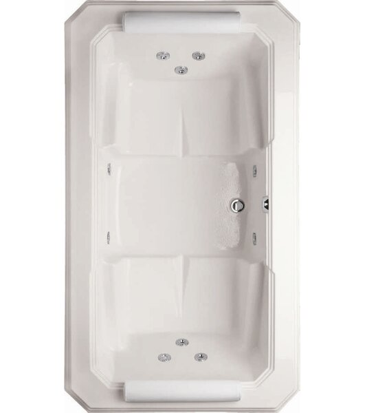 Designer Mystique 78 x 44 Whirlpool Bathtub by Hydro Systems
