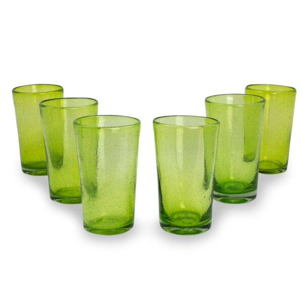 Bubbles Highball Glass (Set of 6) by Novica