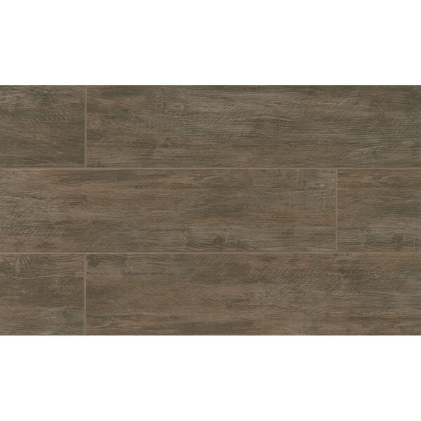Santa Monica 8 x 24 Porcelain Wood Tile in Pier by Grayson Martin