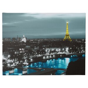 'Paris' Framed Photo Graphic Print on Canvas by Willa Arlo Interiors