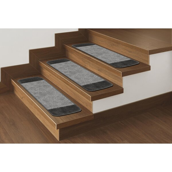 Carreras Gray Stairs Tread (Set of 7) by Andover Mills