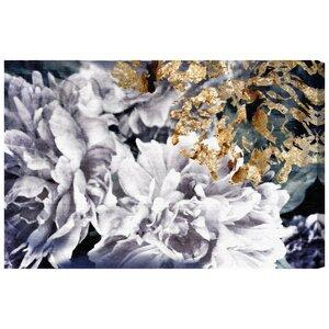 'Dos Gardenias' Graphic Art Print by Willa Arlo Interiors