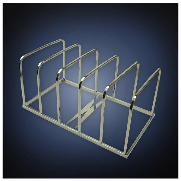 Modern Art Compartment Combinable Stainless Steel File Folder Sorter by ArtsOnDesk