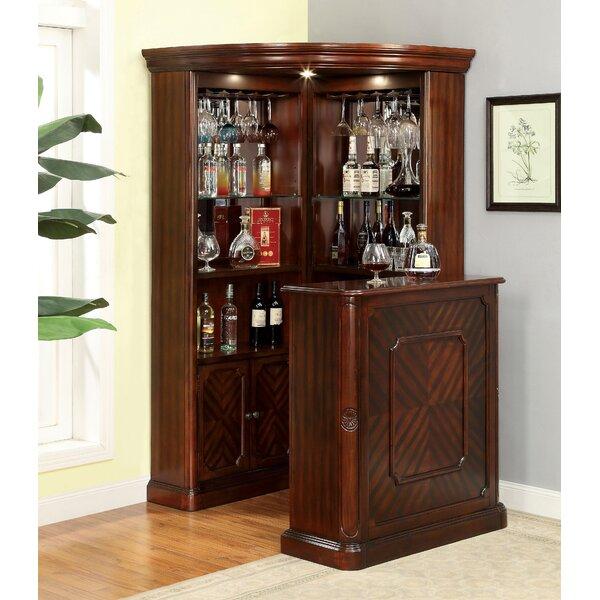 Deasia Corner Curio Cabinet by Astoria Grand Astoria Grand
