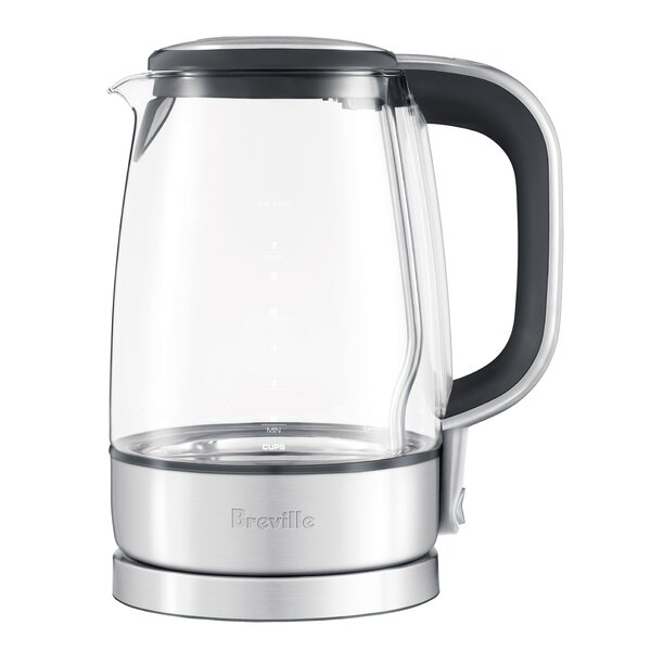 Crystal Clear Electric Tea Kettle By Breville.