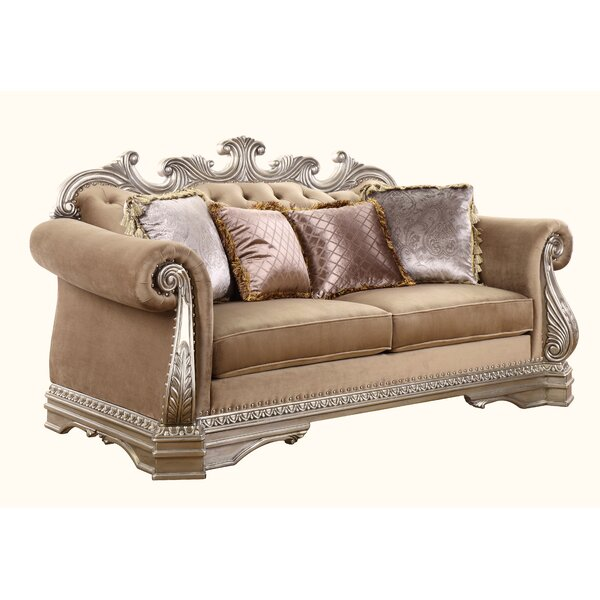 Prosper Loveseat w/4 Pillows by Rosdorf Park