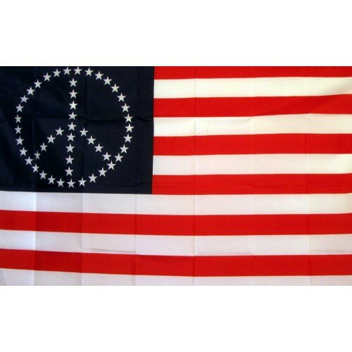US Peace Stars Historical Traditional Flag by NeoPlex