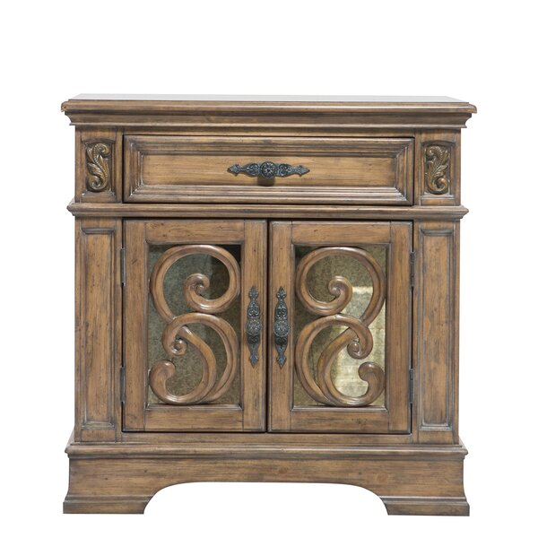 Soham 1 Drawer Nightstand By Fleur De Lis Living by Fleur De Lis Living Bargain