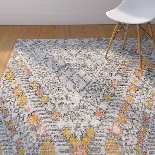 Bedford Hand-Tufted Tangerine Area Rug by Langley Street