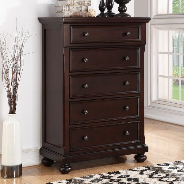 Jaimes 5 Drawer Chest by Breakwater Bay