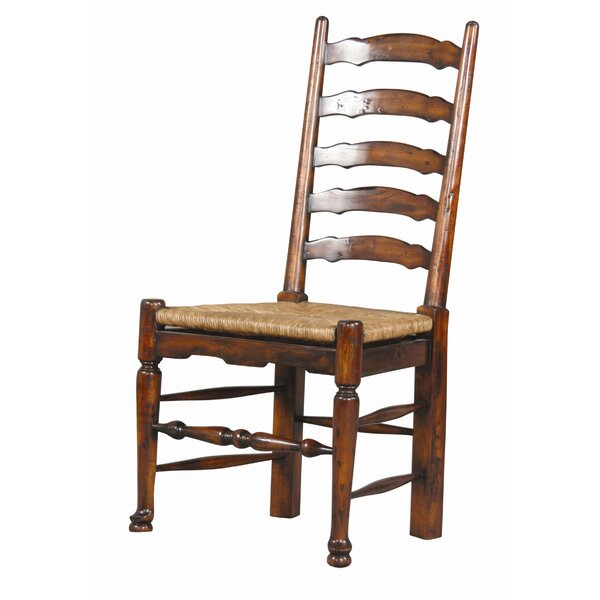 English Country Solid Wood Ladder Back Side Chair (Set of 2) by Furniture Classics Furniture Classics