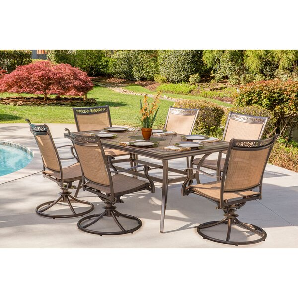 Bucher 7 Piece Dining Set by Fleur De Lis Living