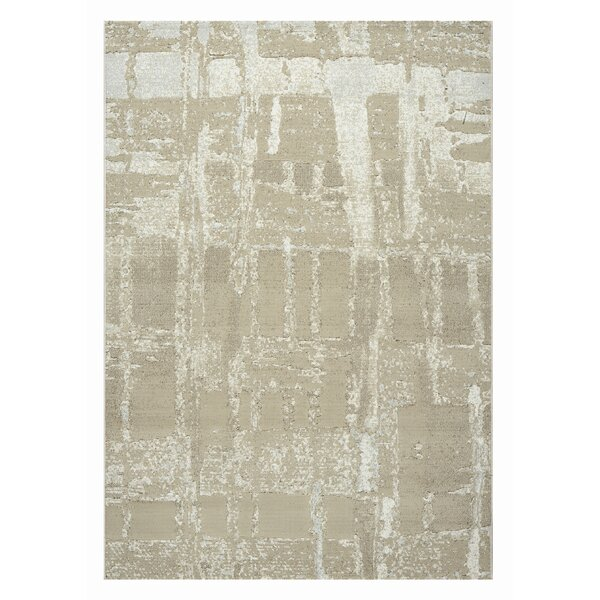 Blank Light Beige Area Rug by Williston Forge