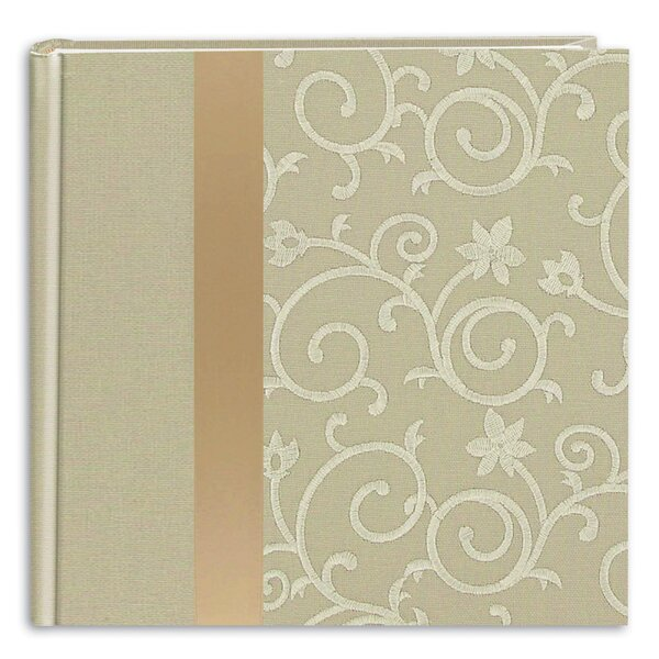 Scroll Book Photo Album by Charlton Home