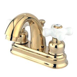 Top Reviews Restoration Centerset Bathroom Sink Faucet with ABS Pop-Up Drain ByKingston Brass