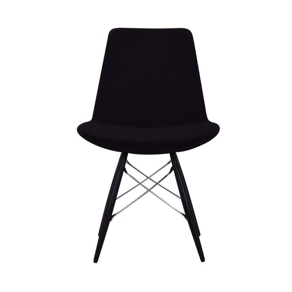 Joanie Tower Upholstered Dining Chair by Ivy Bronx