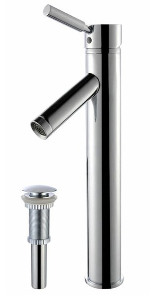 Sheven Single Hole Bathroom Faucet with Drain Assembly