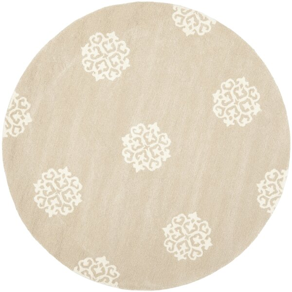 Marcello Beige/Ivory Area Rug by Alcott Hill