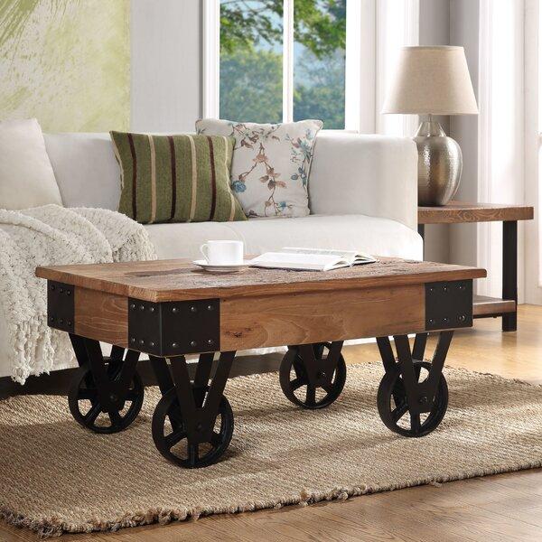 Burciaga Wheel Coffee Table By 17 Stories