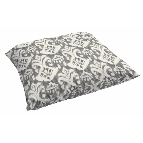 Peabody Outdoor Ikat Outdoor Floor Pillow by Andover Mills