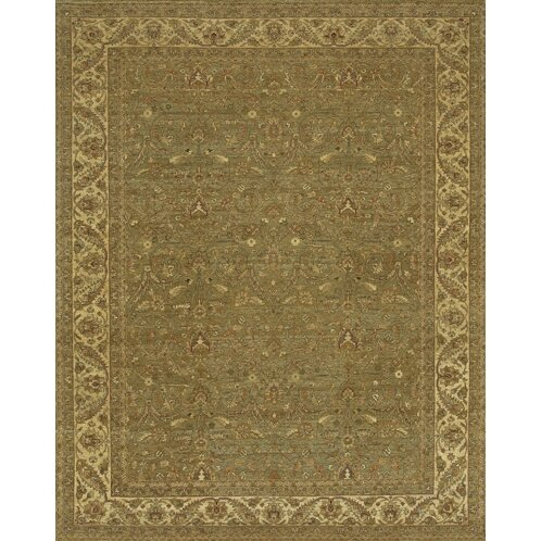 Freeland Green/Brown Area Rug by Astoria Grand