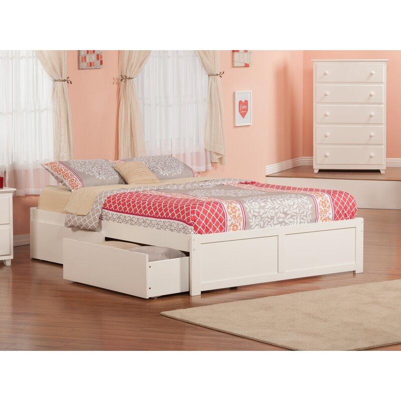 Alayah Queen Storage Platform Bed