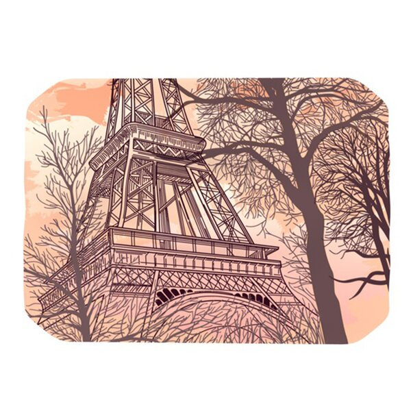 Eiffel Tower Placemat by KESS InHouse