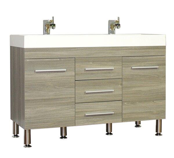 Waldwick 47 Double Bathroom Vanity Set by Wade Logan