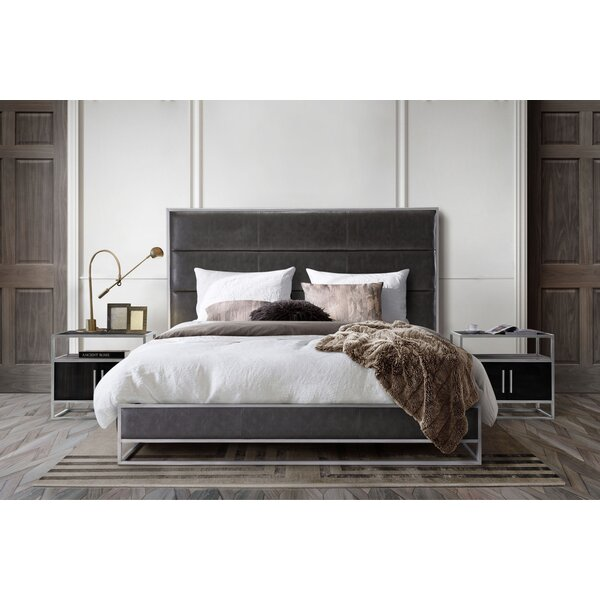 Empire Upholstered Standard Bed by Diamond Sofa