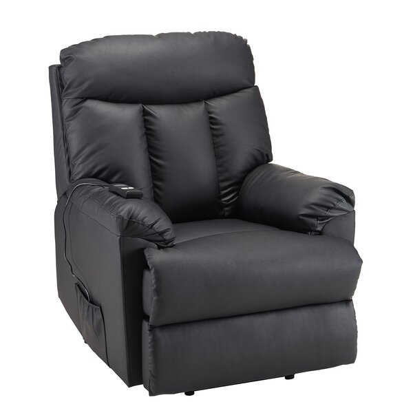 Earlscourt Faux Leather Power Lift Assist Recliner W003210077