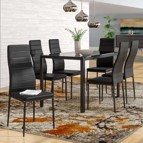 Renick Modern 7 Piece Dining Set by Orren Ellis