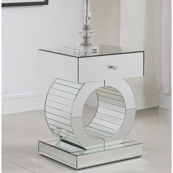 Matthieu End Table by Everly Quinn