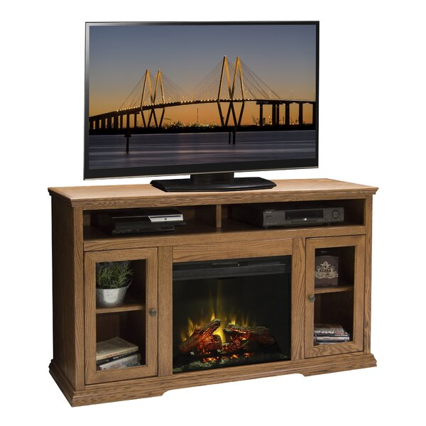 Colonial Place 59 TV Stand with Fireplace by Legends Furniture