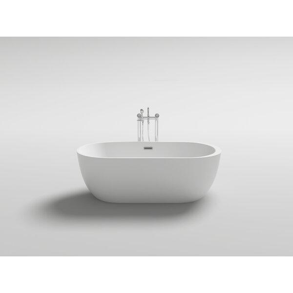 Reno 67 x 31.5 Freestanding Soaking Bathtub by Kokss