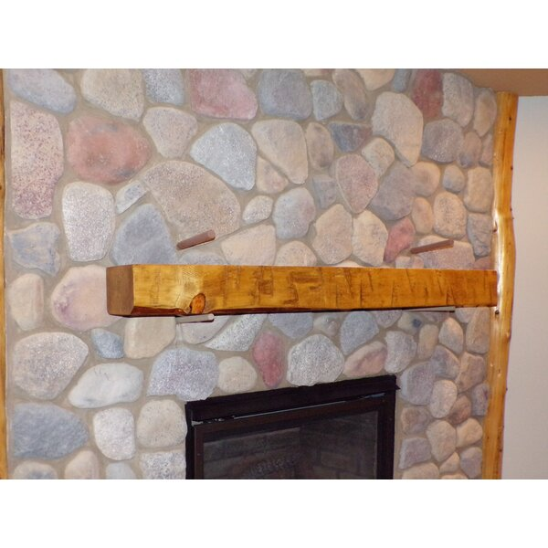 Timber Fireplace Shelf Mantel By North Shore Log Company