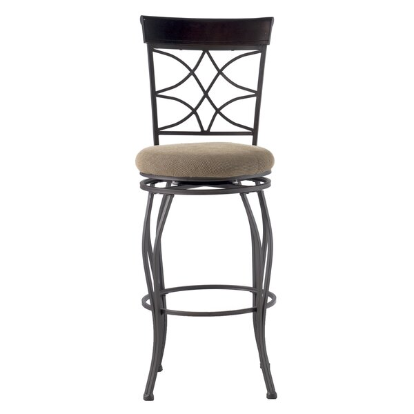 Reading 30 Swivel Bar Stool by Alcott Hill