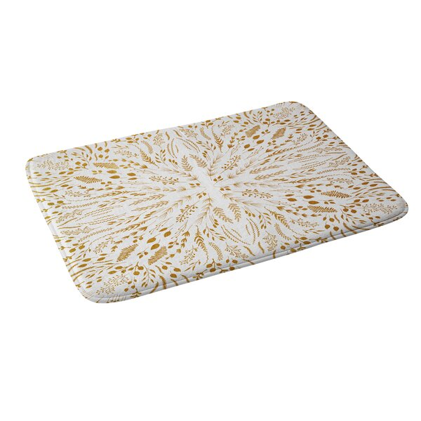 Iveta Abolina Maze V2 Memory Foam Bath Rug by East Urban Home