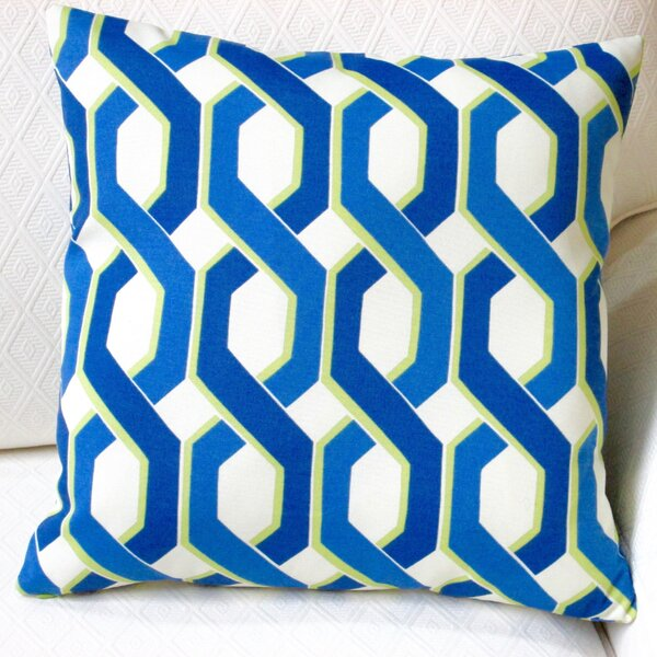 Geometric Modern Indoor/Outdoor Throw Pillow (Set of 2) by Artisan Pillows
