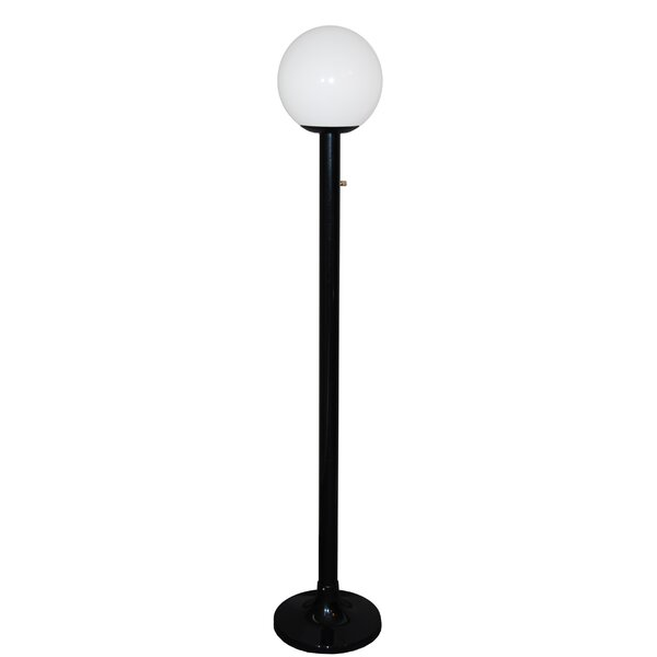 Single Globe Luminaire 79'' Post Light by Polymer Products