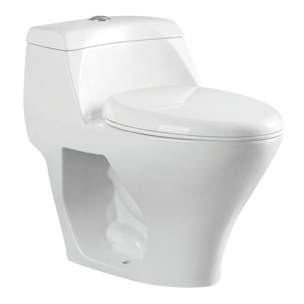 Congress 1.6 GPF Elongated One-Piece Toilet by Kingston Brass