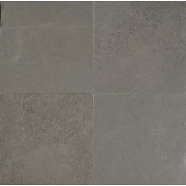 Maes 12 x 12 Limestone Field Tile in Taupe by The Bella Collection