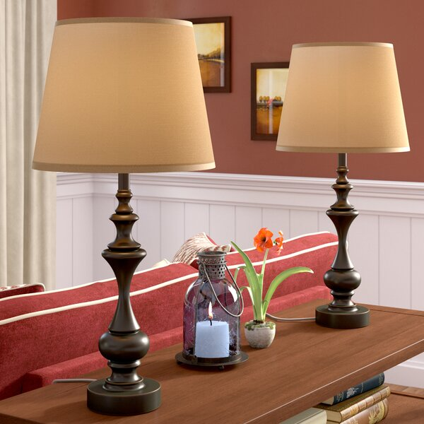 Prentice 27.5 Table Lamp (Set of 2) by Three Posts