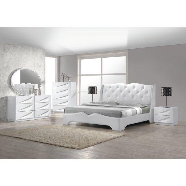 Madrid Platform 5 Piece Bedroom Set by BestMasterFurniture