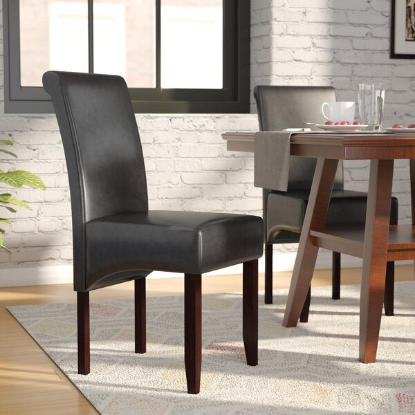 Affordable Darrell Upholstered Dining Chair (Set of 2) by Latitude Run