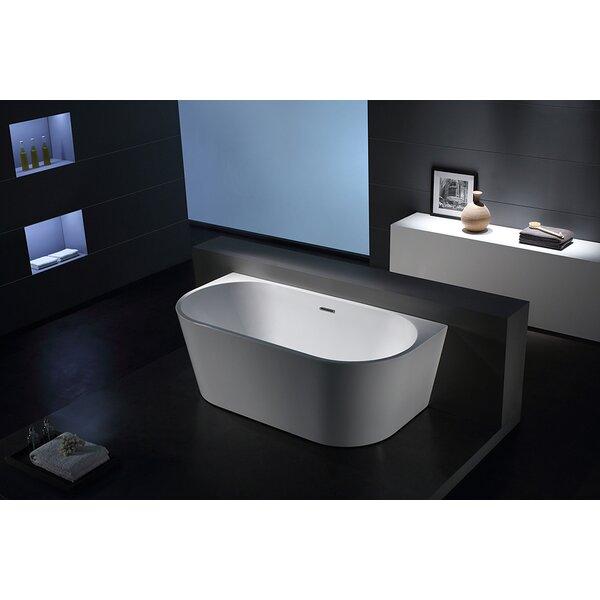 Sao Paolo 67 x 32 Freestanding Soaking Bathtub by Jade Bath