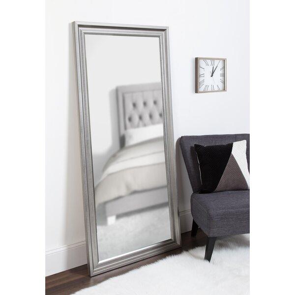 Lamy Extra Large Beveled Floor Leaner Full Length Mirror by Alcott Hill