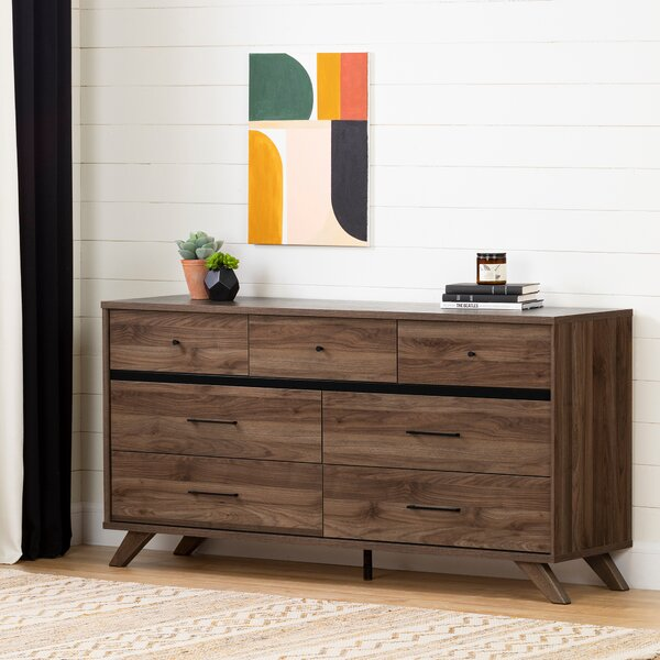 Timothy 7 Drawer Double Dresser By Foundstone by Foundstone 2020 Sale