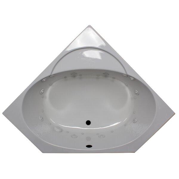 48 x 48 Corner Whirlpool by American Acrylic